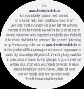2020 SKWINKELtombola Loten Recto Links