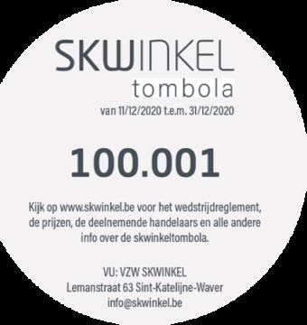 2020 SKWINKELtombola Loten Recto Rechts
